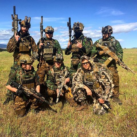 Some teams just like to show off the amount of money they can cram in to the game of airsoft.