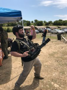 Microgun m132 mini gun gatling