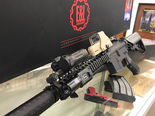 e&l mk18 e and l m4 airsoft gun