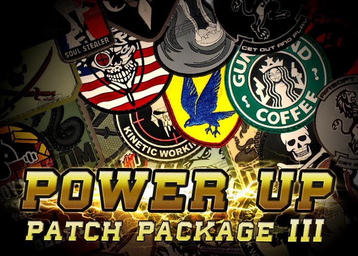Power Up Patch Package III