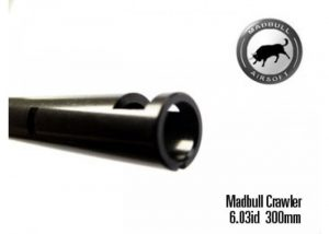 Mudbull Black Python, Crawler, and Steel barrels are essential for upgrading your AEG