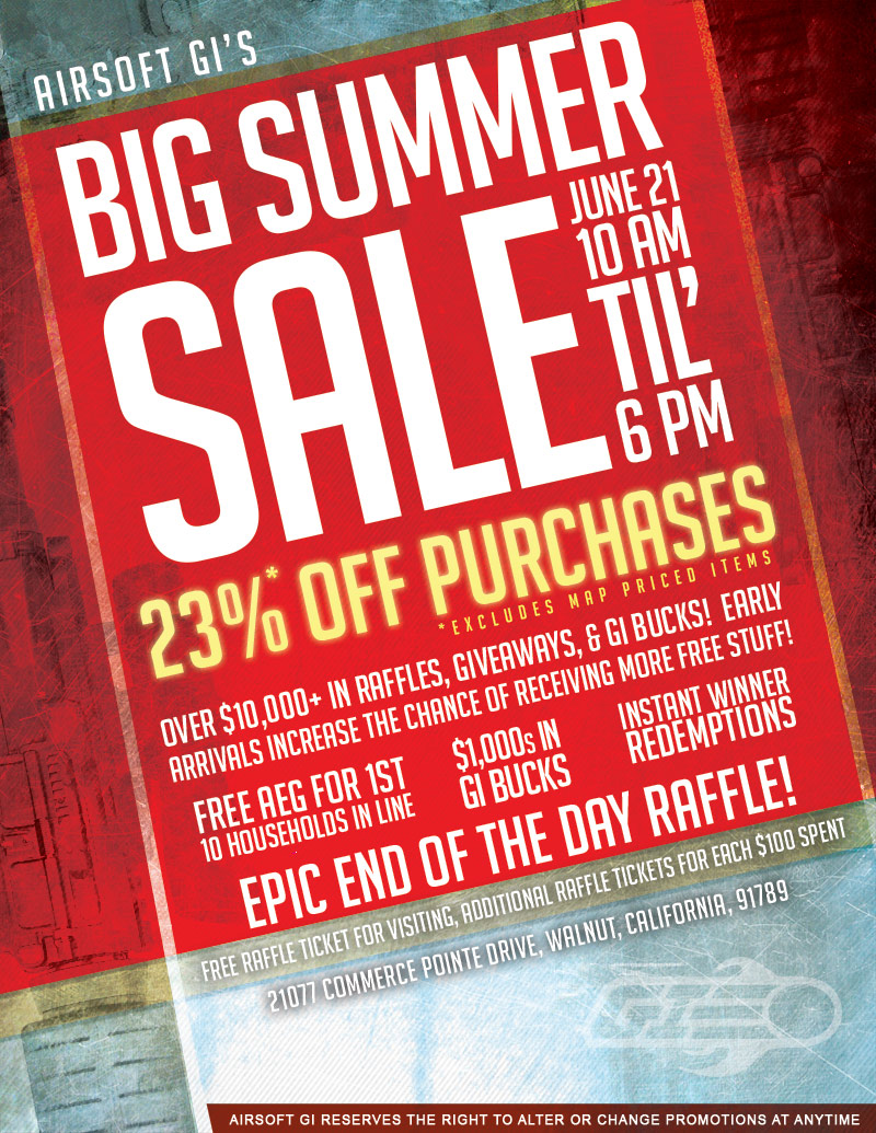 Big red summer prizes